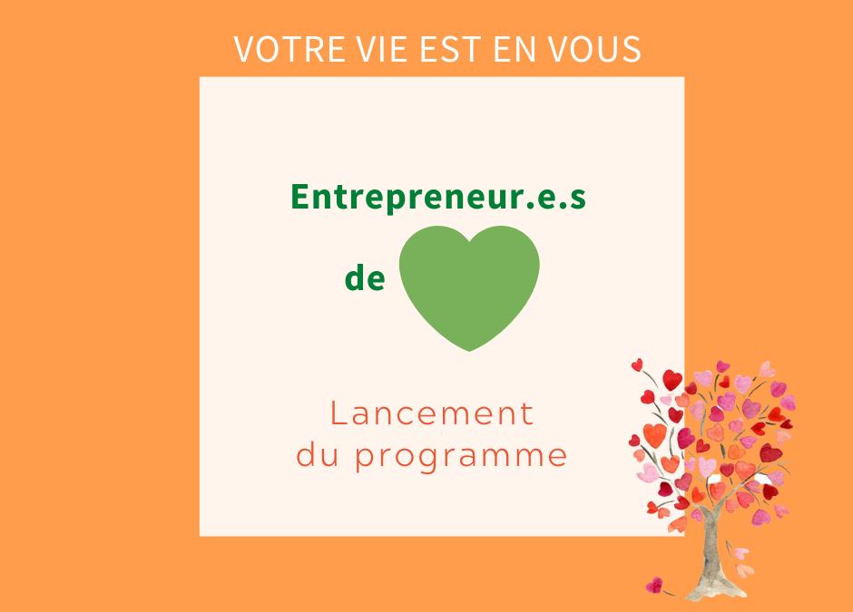 Entrepreneur.e.s de coeur