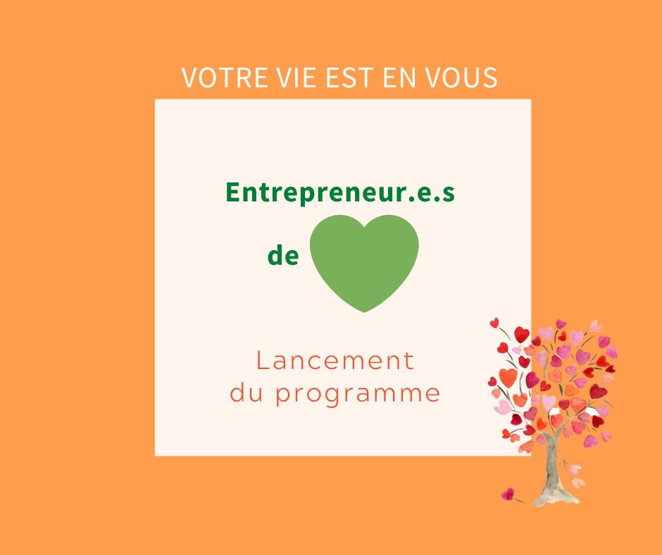 entrepreneurs de coeur